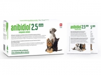 Anibidiol 2.5 - Ergänzungsfuttermittel mit natürlichem Hanfextrakt